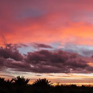 Aquarela do amanhecer