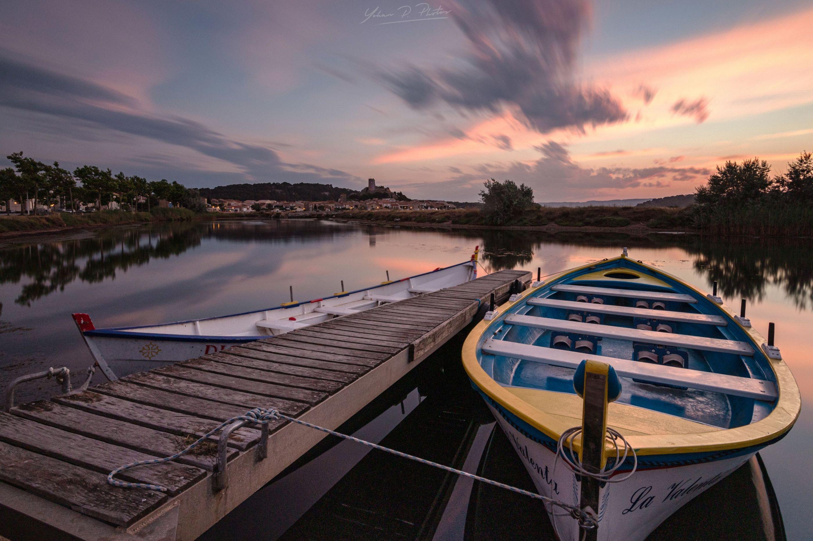Barques a Gruissan